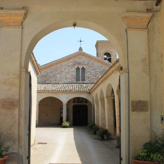 Montefalco, chiesa e convento di San Fortunato