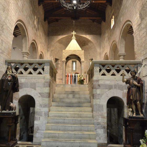 Foligno, San Giovanni Profiamma, parrocchiale, interno