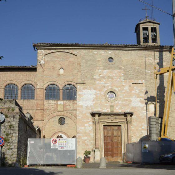 Foligno, chiesa di Santa Maria in Campis