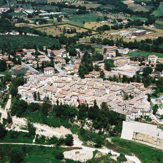 Massa Martana, veduta dall'alto