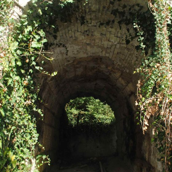 Nocera Umbra, antica Via Flaminia, il Ponte Marmoreo (sopra il fosso di San Martino)