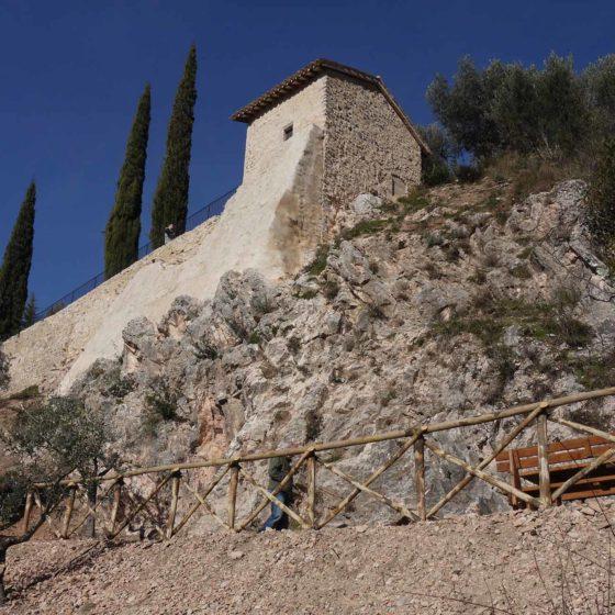 Trevi, chiesa di Santa Caterina (resti)