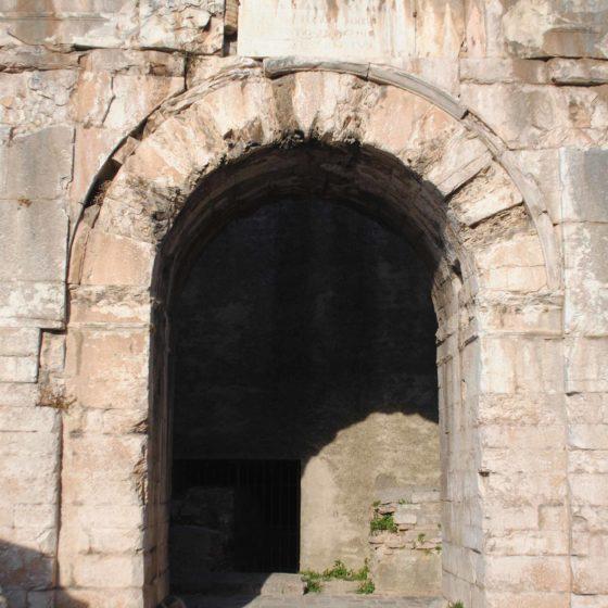 Spello, Porta San Ventura (Hispellum)