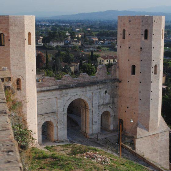 Spello, Porta Venere (Hispellum)
