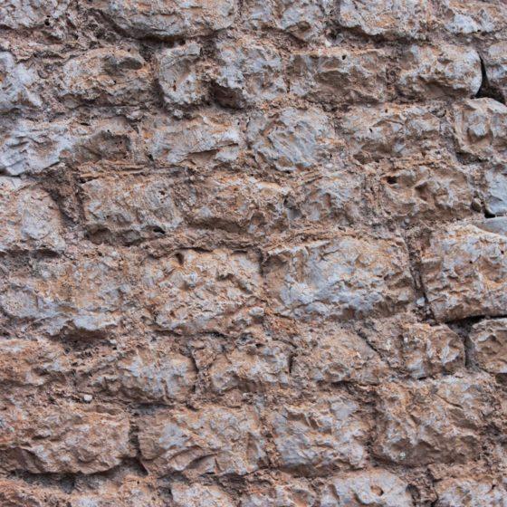 Trevi, mura, particolare