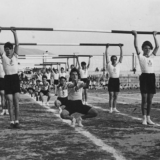 Porta Romana, Campo Littorio nuovi impianti sportivi, primi anni '40