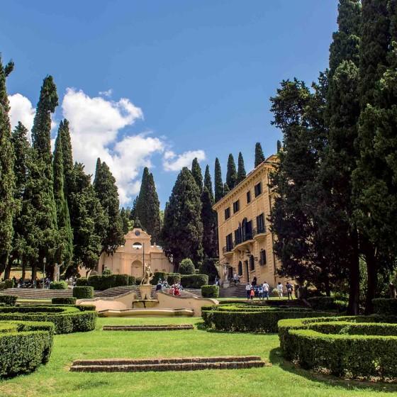 Spello, villa Fidelia, 'I giorni delle rose'