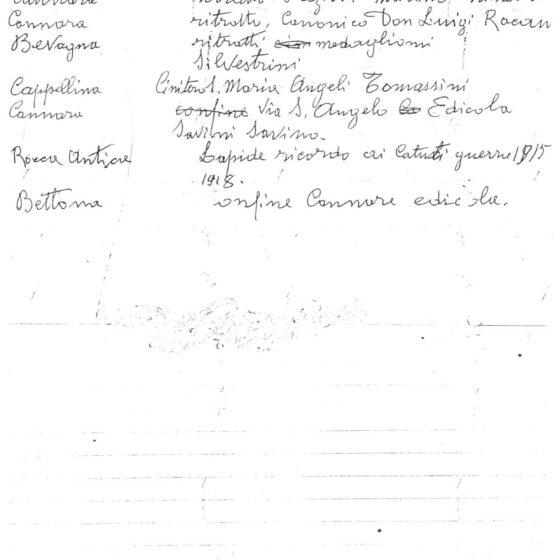 Bruno BINI, un manoscritto (pag. 6) [su gentile concessione dell'autore dell'articolo Mario SCALONI]