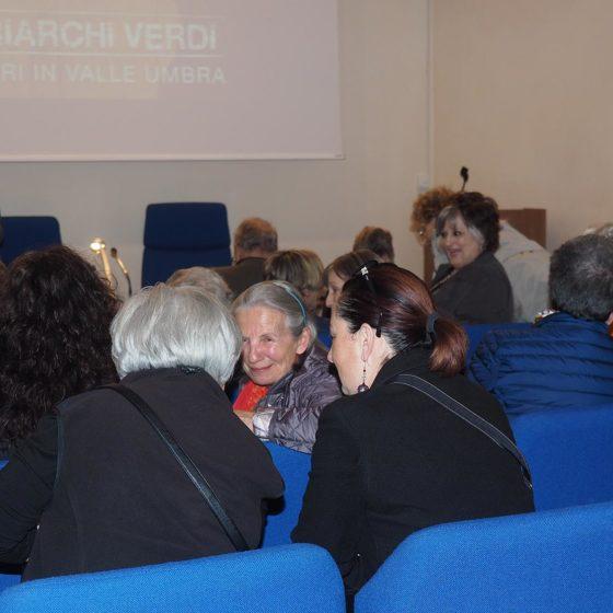 4 maggio 2016, presentazione del volume 'Patriarchi Verdi. Itinerari in Valle Umbra', Foligno, biblioteca Jacobilli (tra il pubblico)