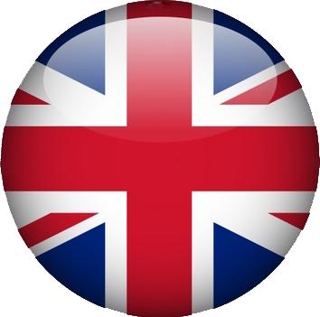 bandierina tondo inglese