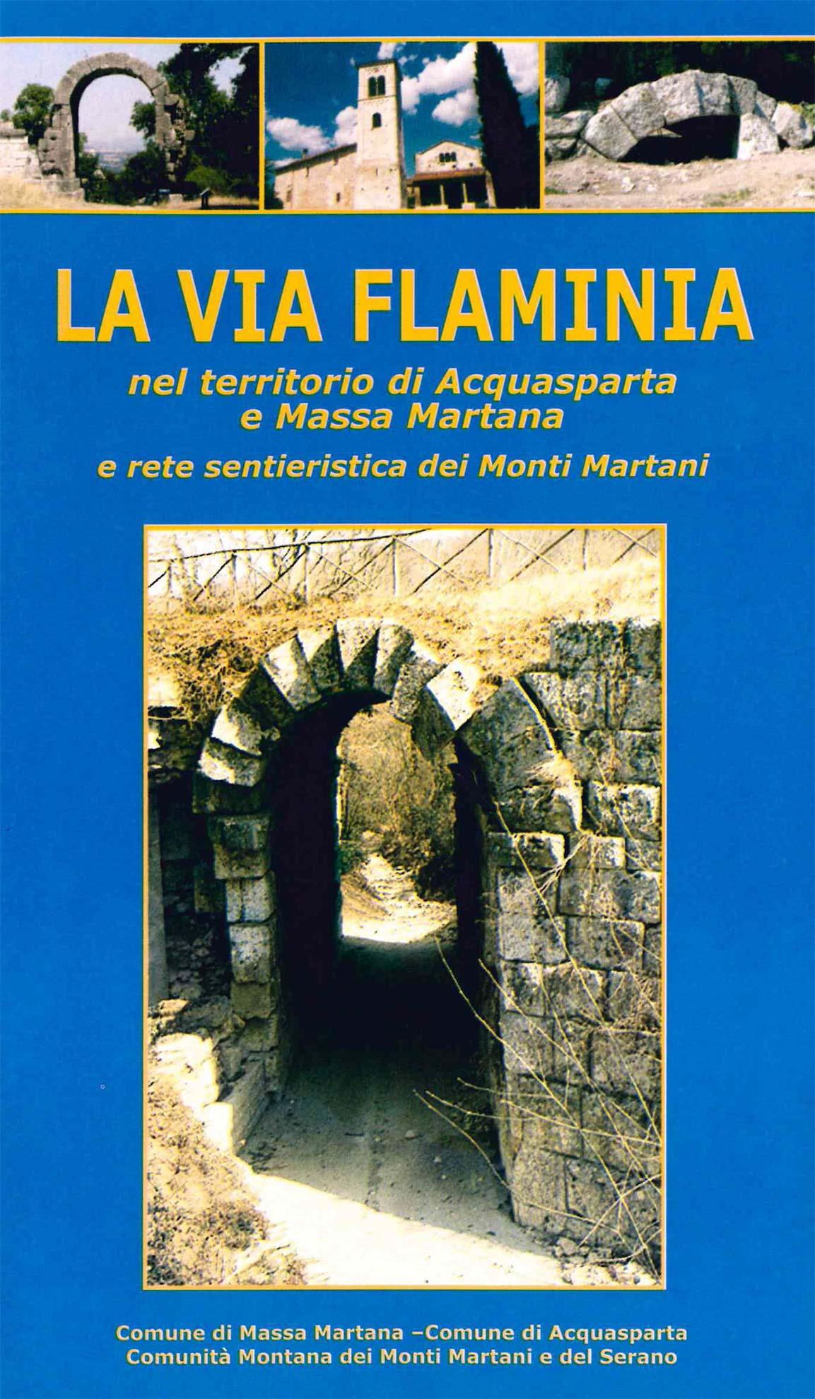 La via Flaminia (copertina)