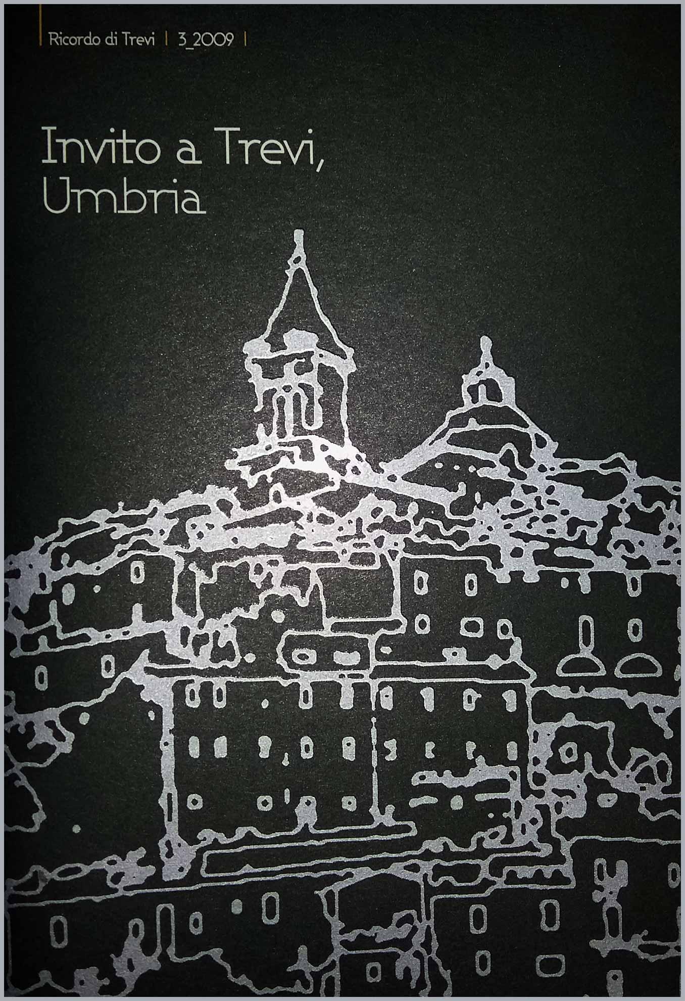 Invito a Trevi, Umbria (copertina)