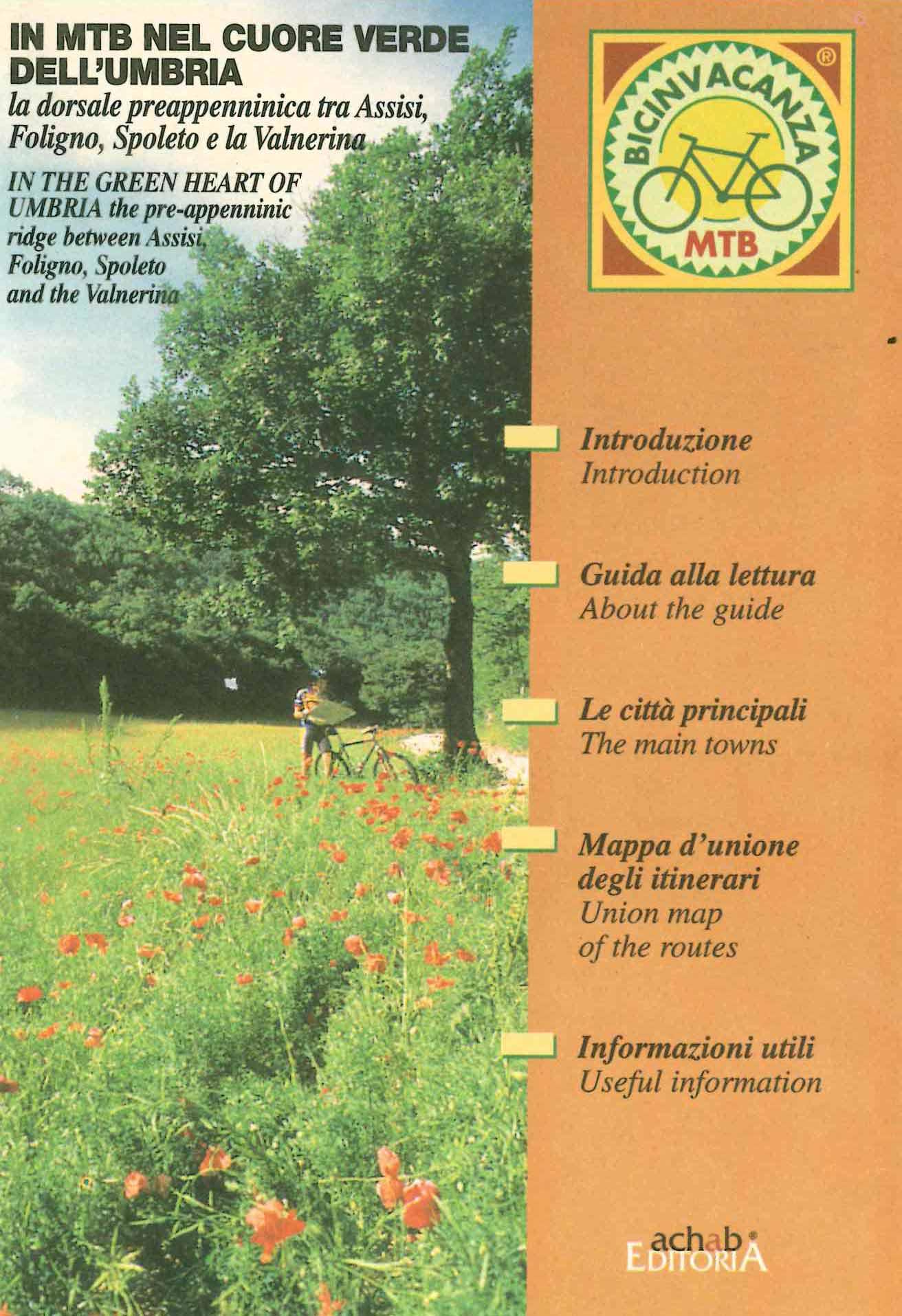In MTB nel cuore verde dell'Umbria (copertina, front)