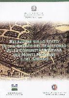 RELAZIONE SULLO STATO DELL'AMBIENTE DEL TERRITORIO DELLA COMUNITÀ MONTANA DEI MONTI MARTANI E DEL SERANO, Spoleto 2003, copertina