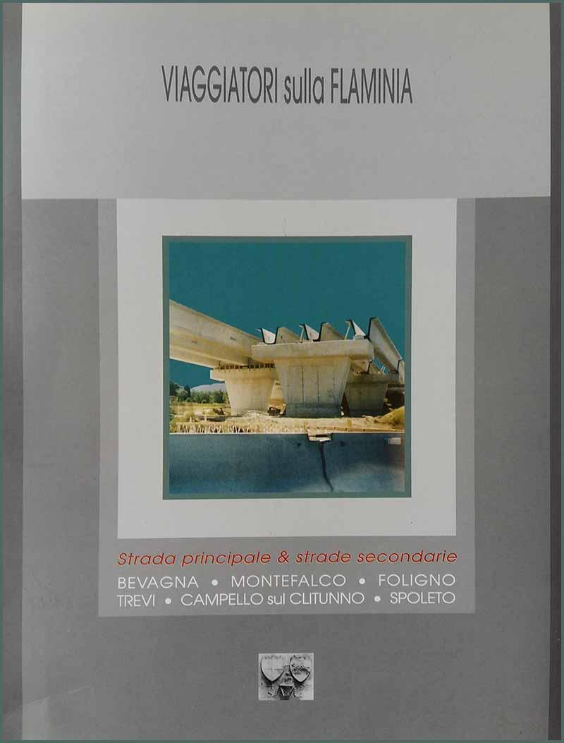 VIAGGIATORI sulla Flaminia (1999), copertina