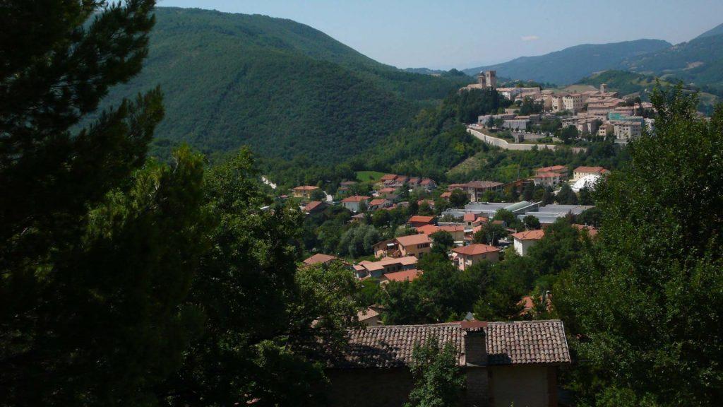 Nocera Umbra, panorama - foto di Giampaolo Filippucci e Tiziana Ravagli