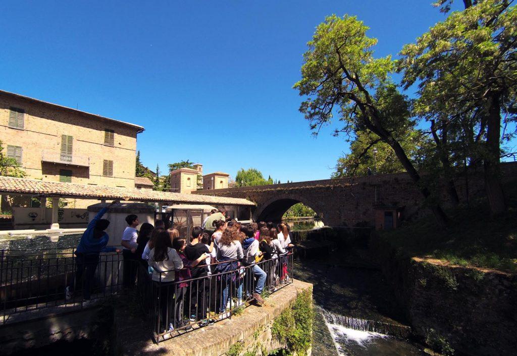 Con la IC e la ID Scuola secondaria di primo grado di Spoleto 'A. Manzoni' a Bevagna