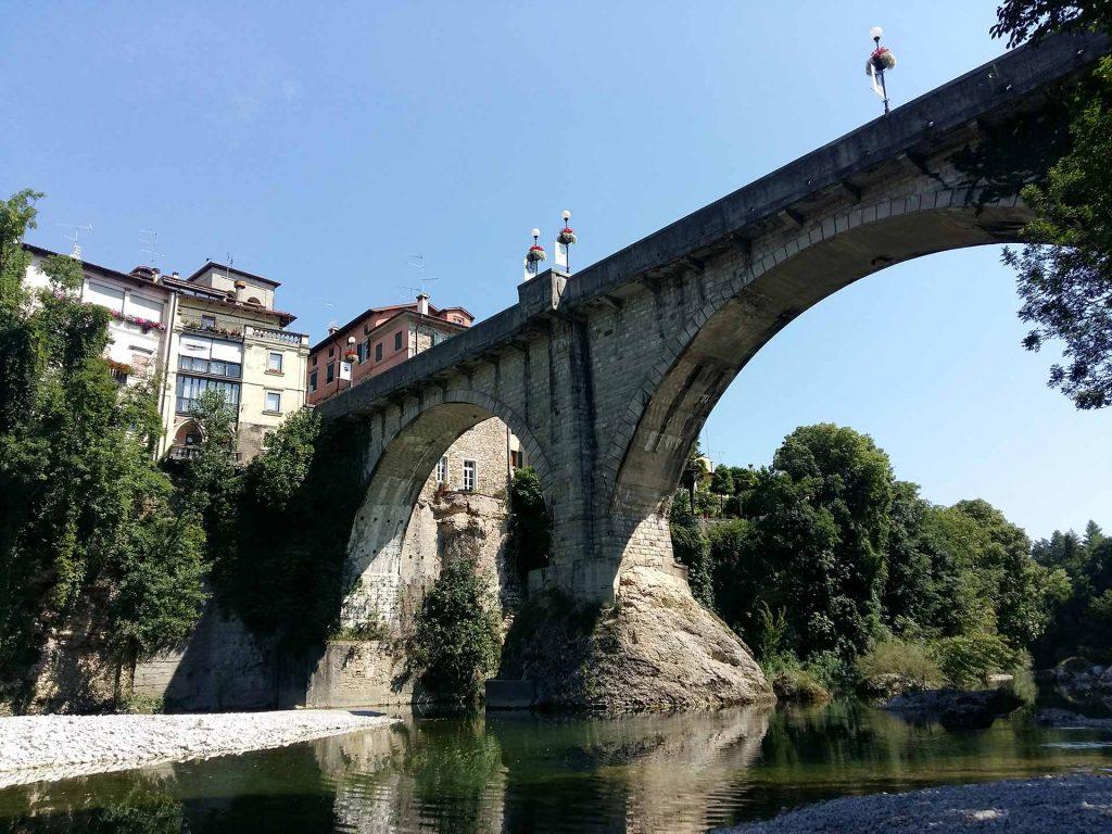 Cividale del Friuli, il Ponte del Diavolo sul fiume Natisone