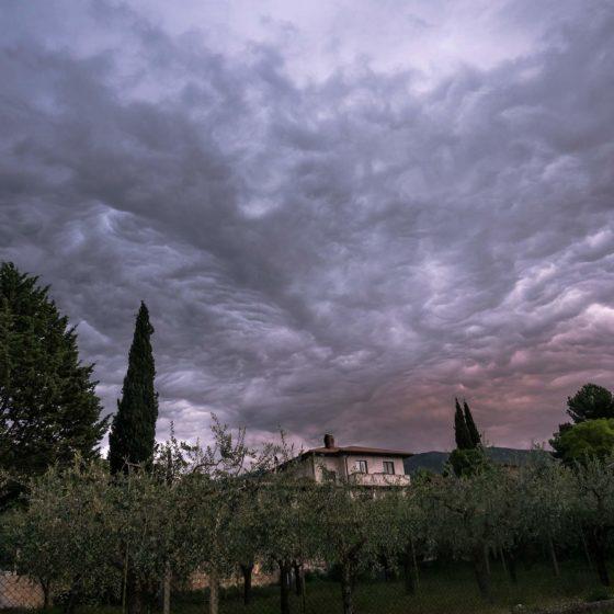Nuvole stratiformi