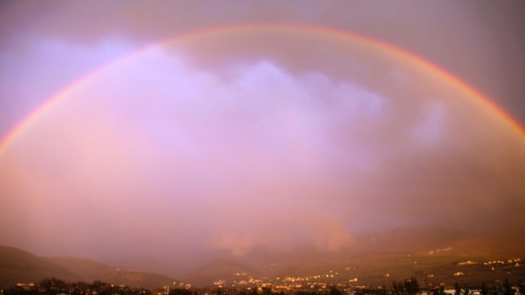 Arcobaleno in Valle Umbra