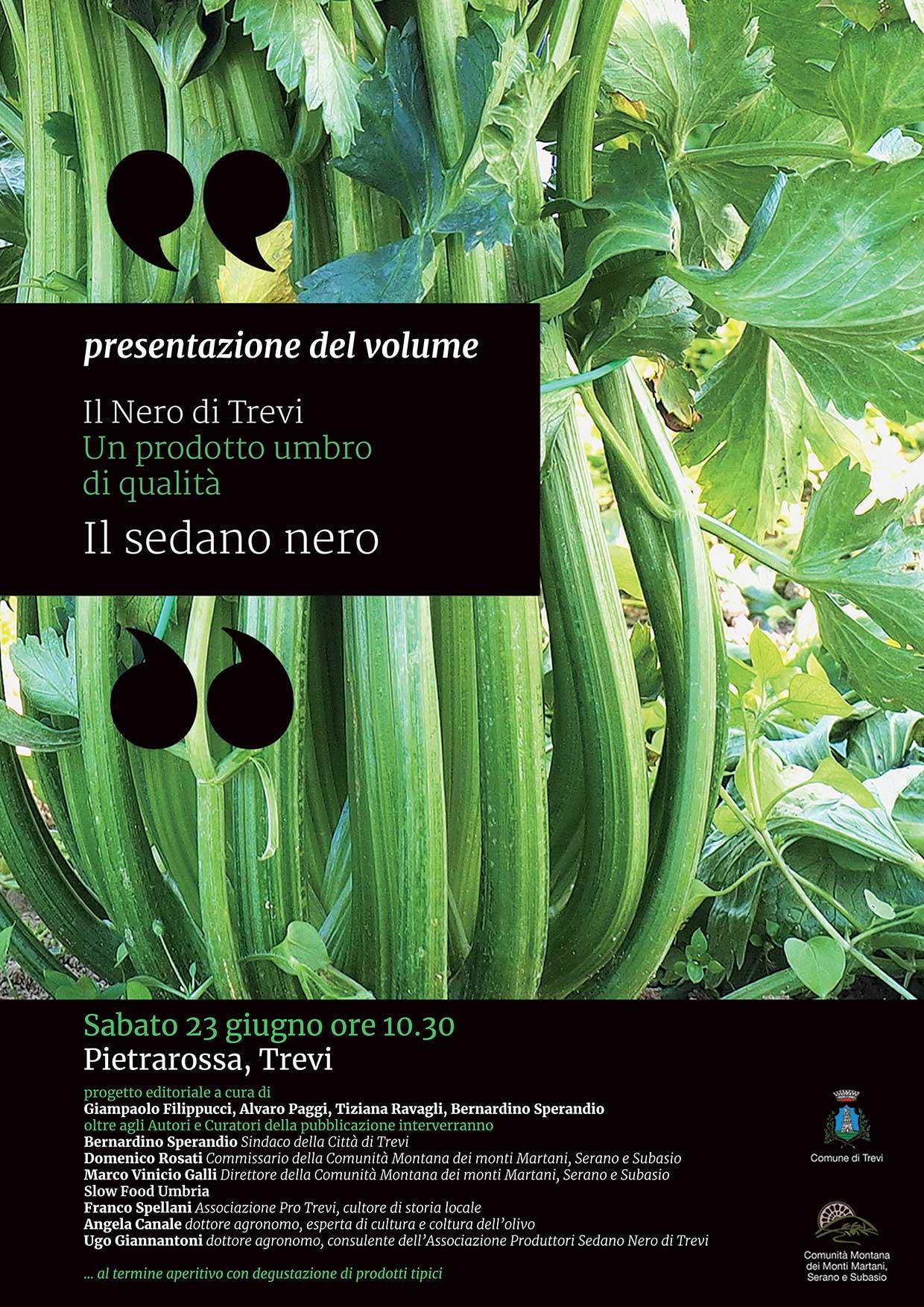 LOCANDINA-INVITO: PRESENTAZIONE DEL VOLUME IL NERO DI TREVI, PIETRAROSSA