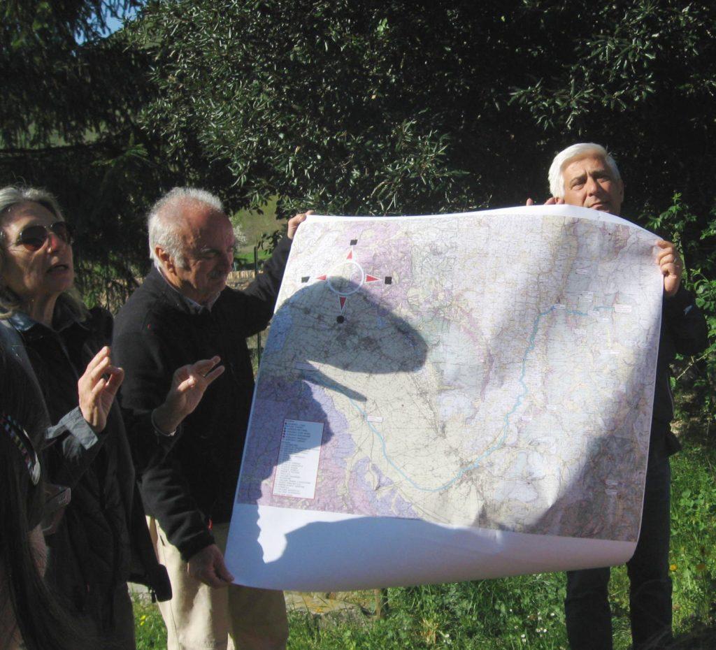 Raccontiamo la geologia del fiume Topino [foto delle insegnanti]