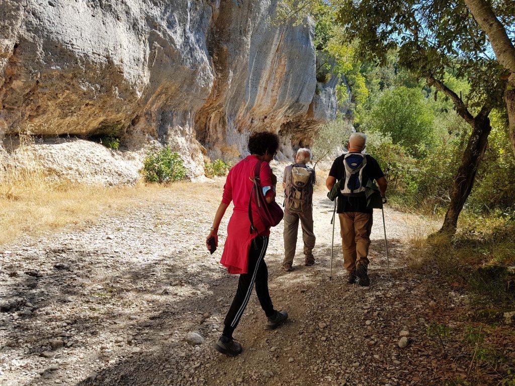 Una bella passeggiata da Castel di Lago (Arrone) sino all'Eremo della Madonna dello Scoglio