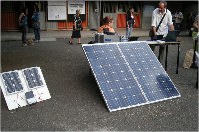 Solare fotovoltaico - photo credit: AlbertEin2010 via photo pin cc