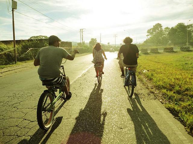 In bicicletta - photo credit: GuiYo via photopin cc