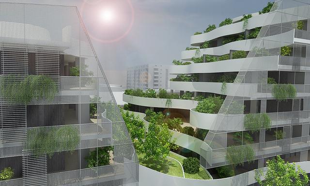 Edifici sostenibili - photo credit: Rèdais via photopin cc