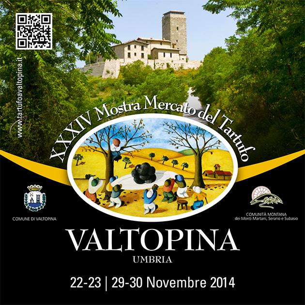 XXXIV edizione della Mostra Mercato del tartufo di Valtopina - copertina
