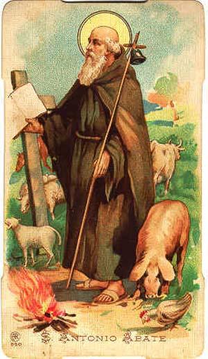 Sant'Antonio abate, da www.santiiebeati.it