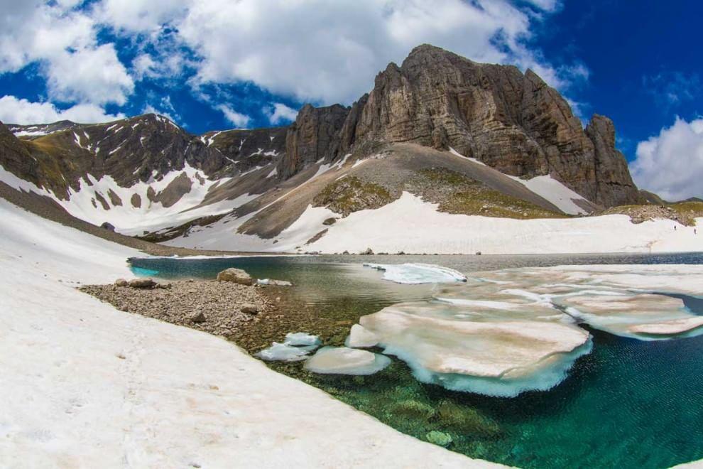 Monti Sibillini lago di Pilato