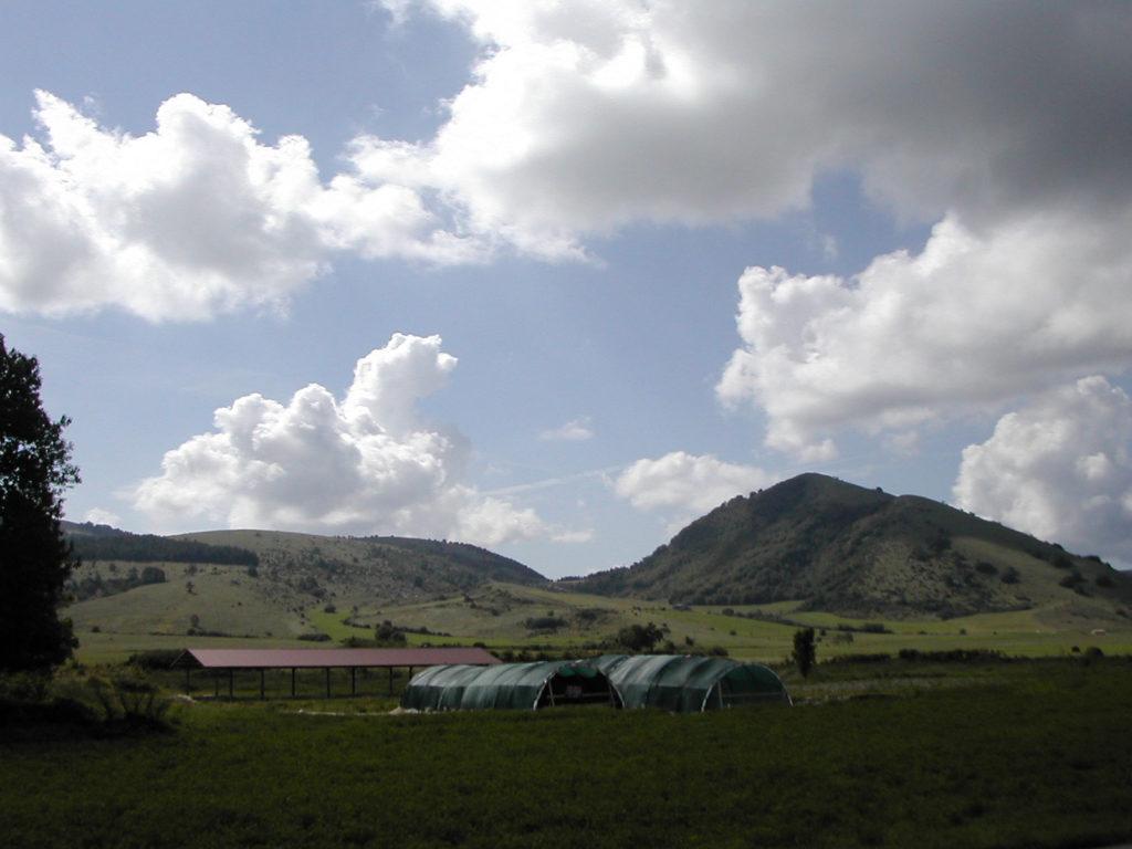 Foligno, Colfiorito, scavi Plestia