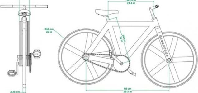 Dal Messico l'eco-bike in cartone rigorosamente riciclato