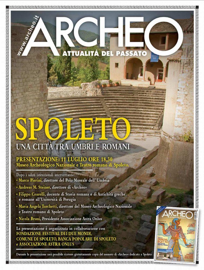 Archeo - Spoleto una città tra Umbri e Romani presentazione