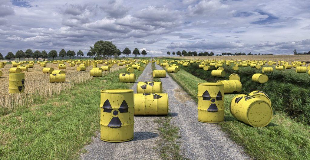 Rifiuti radioattivi, via pixabay, CC0 Creative Commons