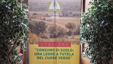Coldiretti, consumo del suolo in Umbria
