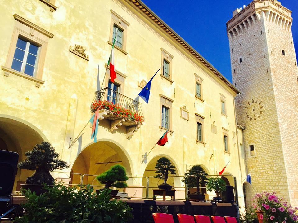 Sede municipale di Trevi - bandiera arancione