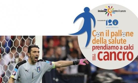 Iniziativa 'Con il pallone della salute...' (logo)