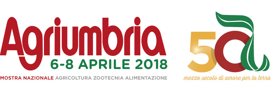Agriumbria 50 - 2018 - logo, testata web