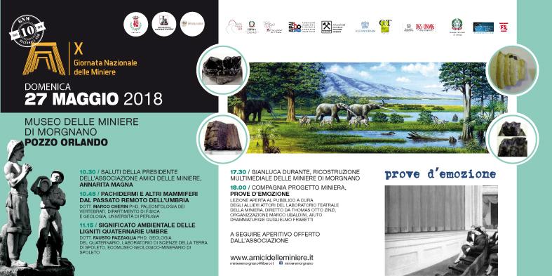 X Giornata delle Miniere a Morgnano, 2018