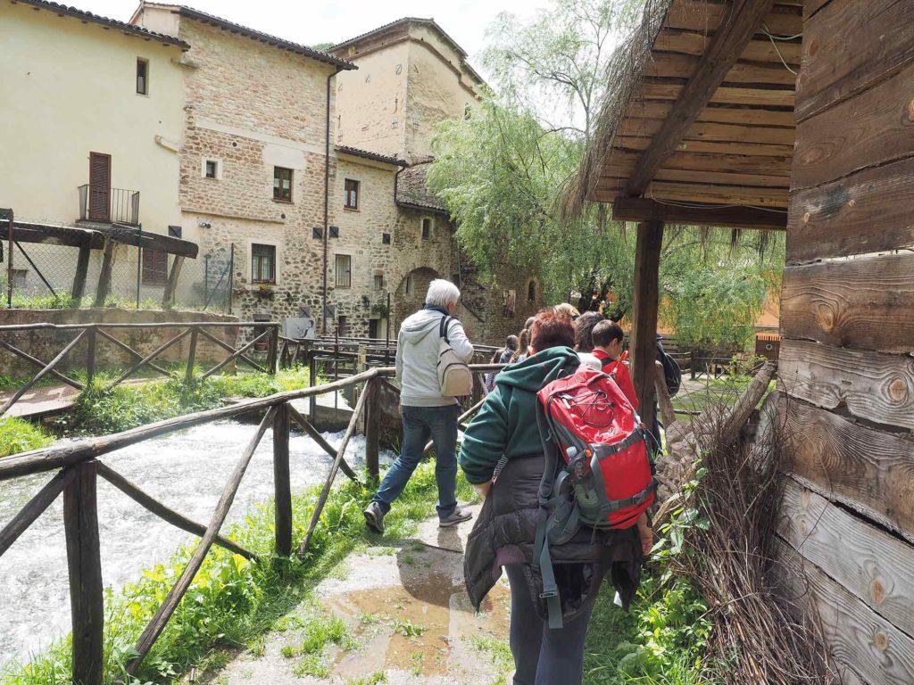 MontagneAperte didattica ambientale a Rasiglia, 2018